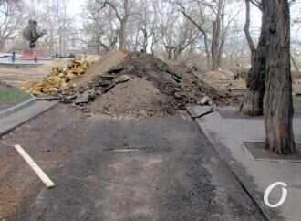 Бульвар Жванецкого в Одессе перекрыли до улицы Гоголя (фото)