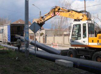 В Одессе на Даче Ковалевского обновляют магистральный водопровод