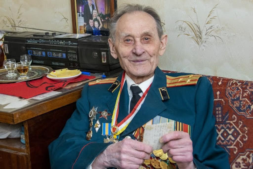 ветеран-освободитель Николай Московой