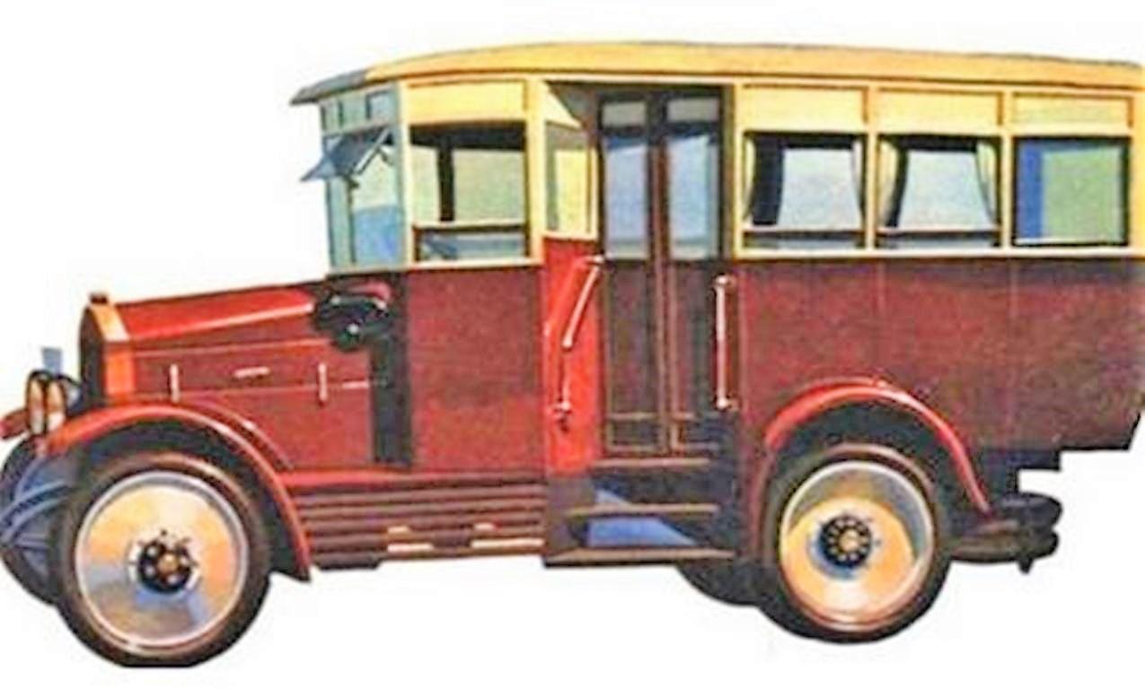 первый автобус в Одессе