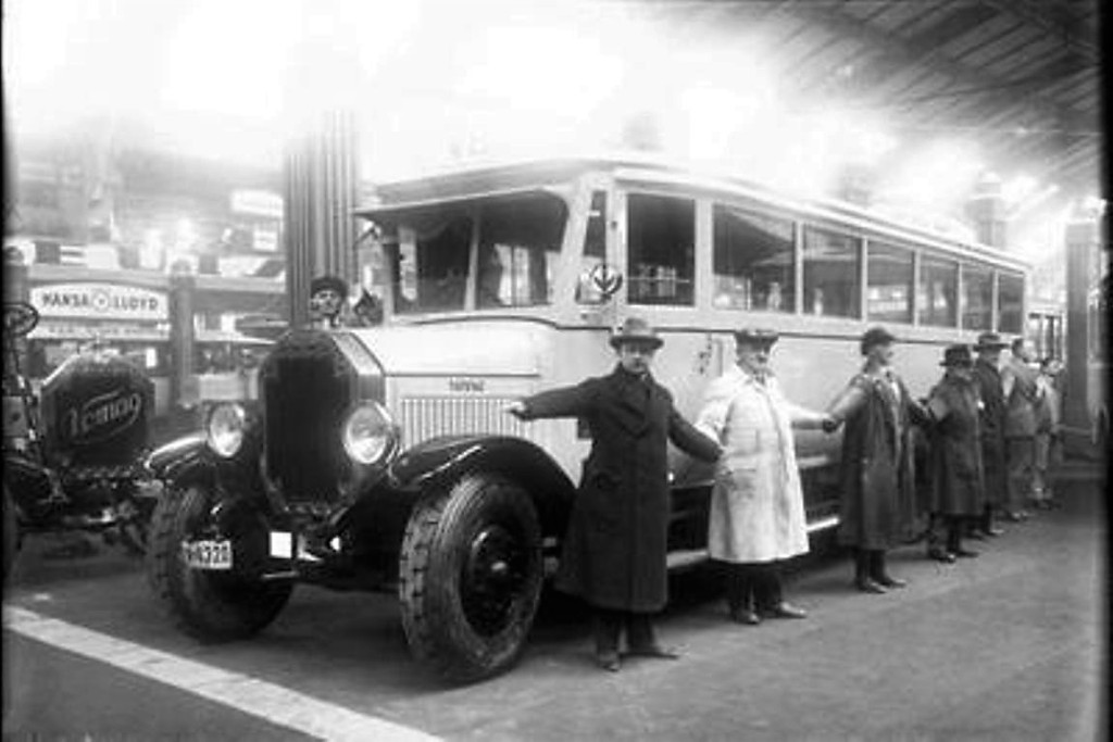 первый одесский автобус