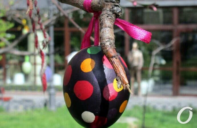 В одесском Горсаду расцветет писанками Пасхальное дерево (фото)