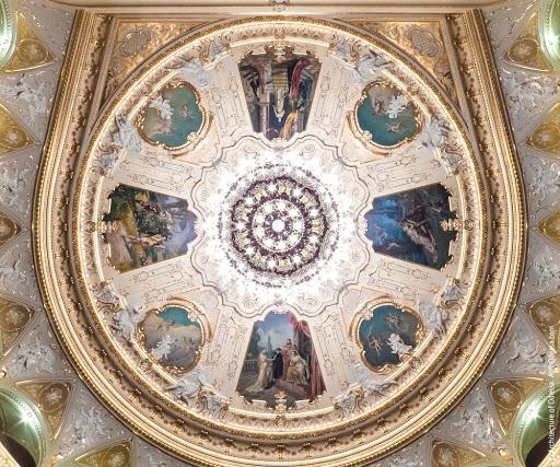 Потолок оперного