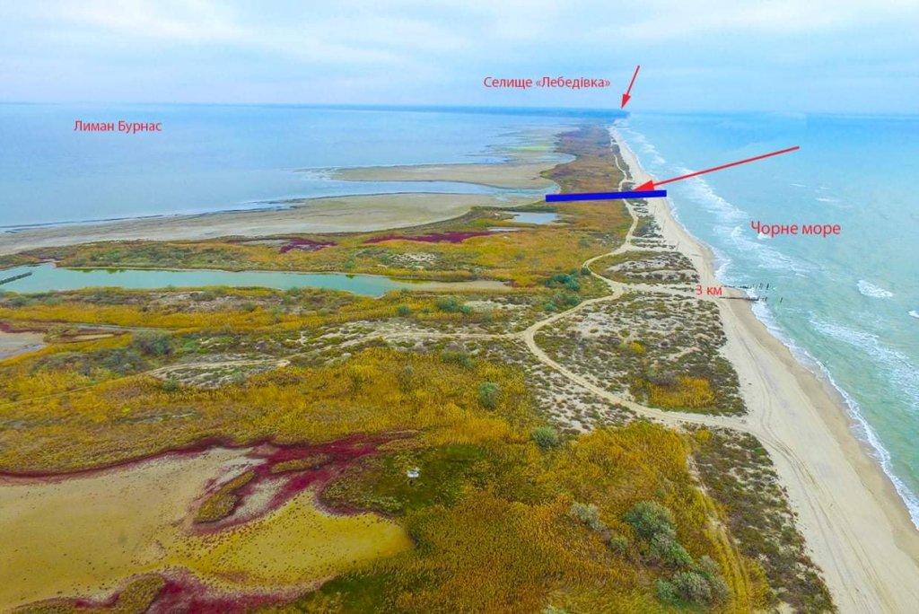 море спасло Тузловские лиманы