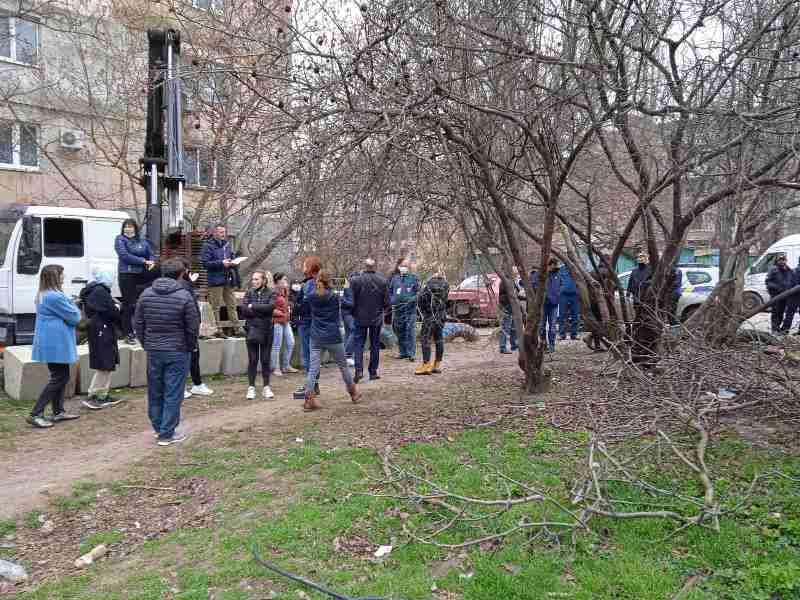 ситуация на Варненской, местные жители