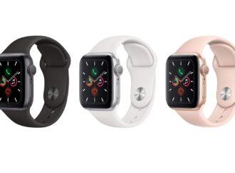 Apple Watch Series 5 – интеллект и стиль в одном гаджете