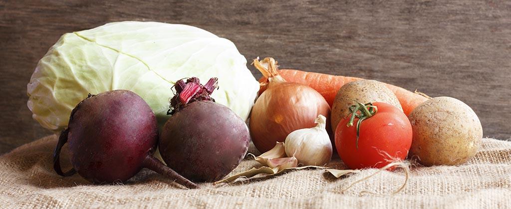 борщевой набор овощи