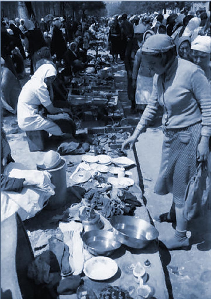оккупация Одессы рынок