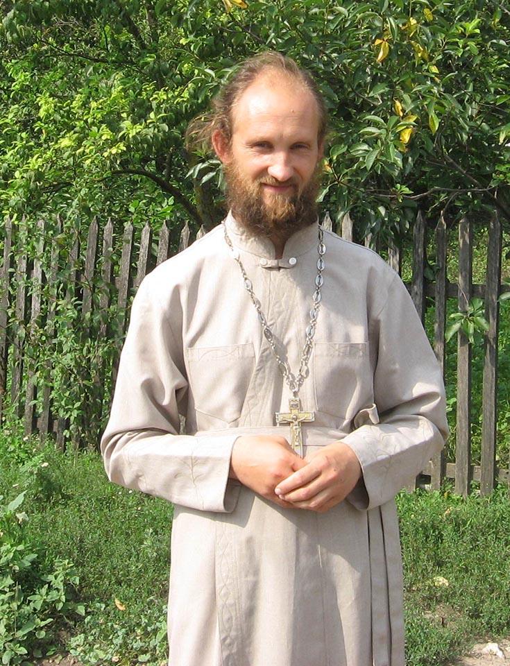 Борщівський священик отець В'ячеслав