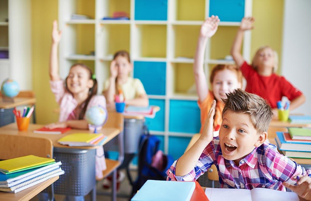 школа школьники в классе