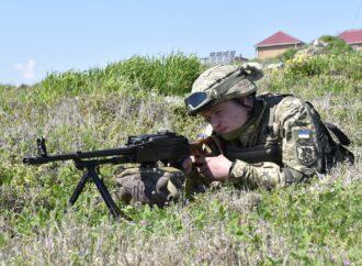 ВМС учились оборонять Украину со стороны Черного моря (фото)