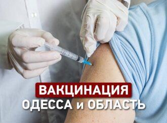 Центры вакцинации в Одессе: где можно будет привиться от COVID-19 в ближайшие выходные