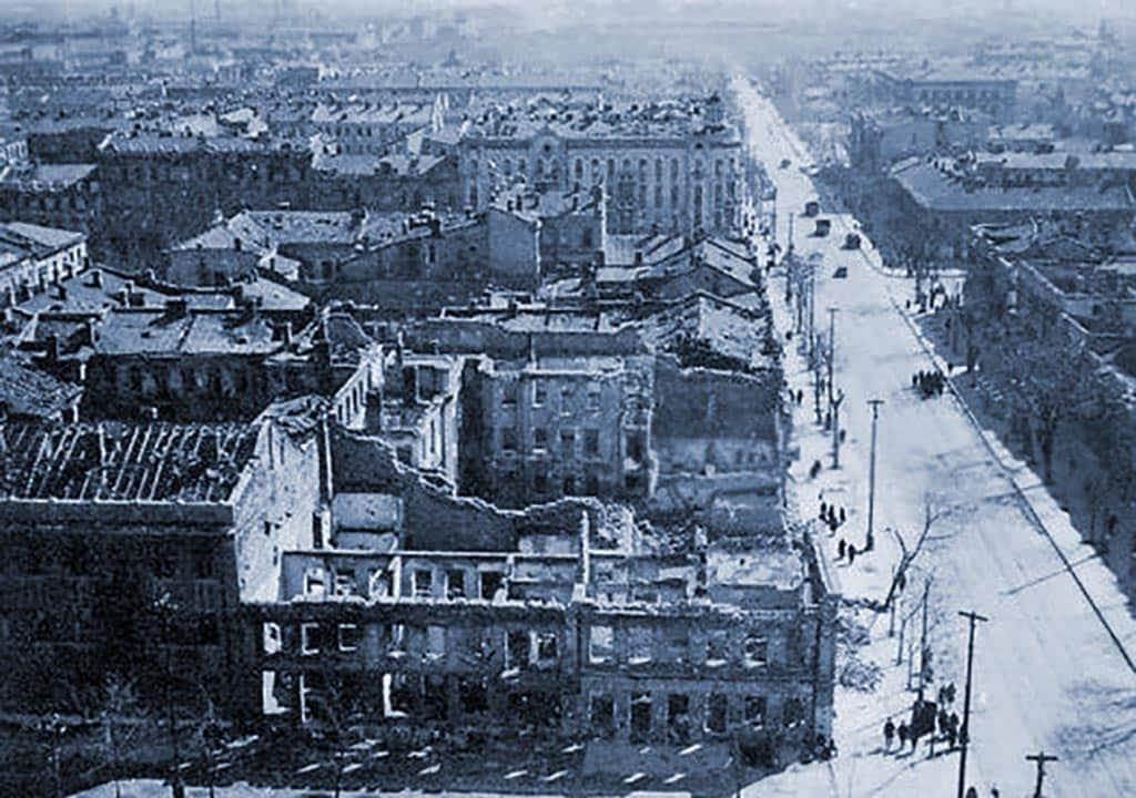 Разрушения освобождение Одессы