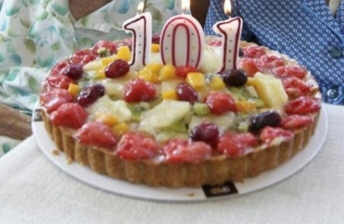 Одесситка отметила 101-й день рождения и мечтает дожить до 105-го