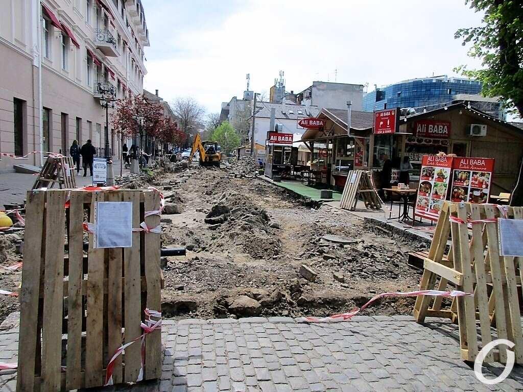 Красный переулок, ремонт