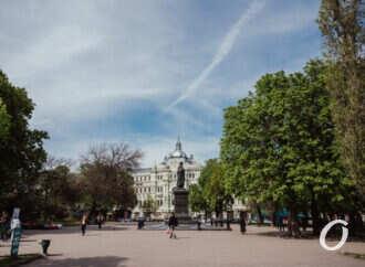 Май в центре Одессы – фоторепортаж с Соборной площади и Горсада