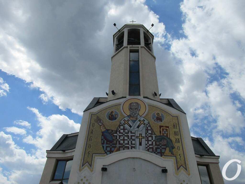 Одесский Морвокзал, храм2