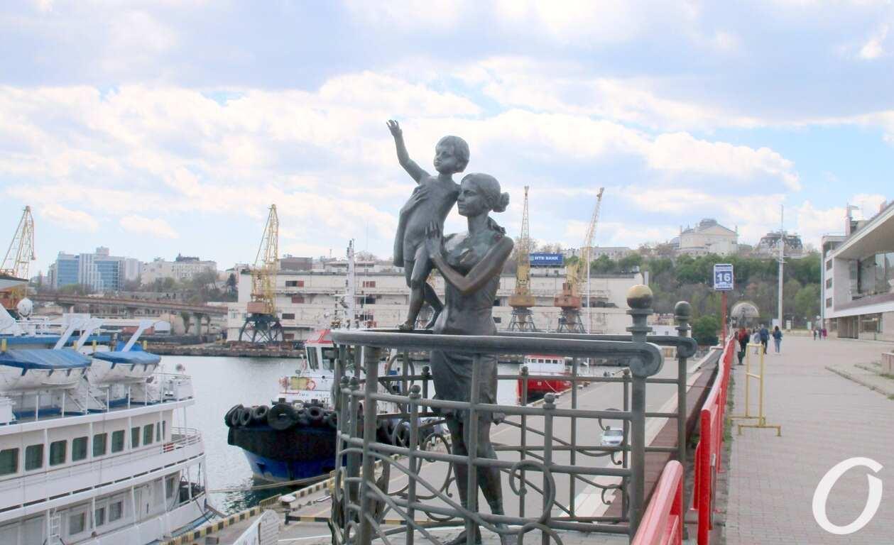 Одесский Морвокзал, Жена моряка
