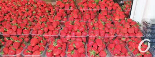 Клубничка-молодая картошечка: цены майских «даров лета» на одесском Новом базаре (фото)