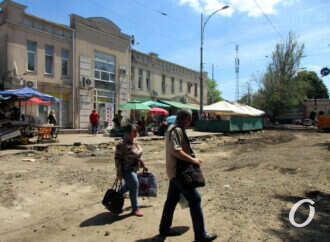Не узнать: как идет ремонт квартала Преображенской у Привоза (фото)
