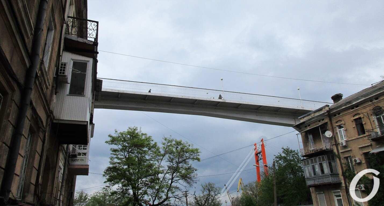 Военный спуск, Тещин мост