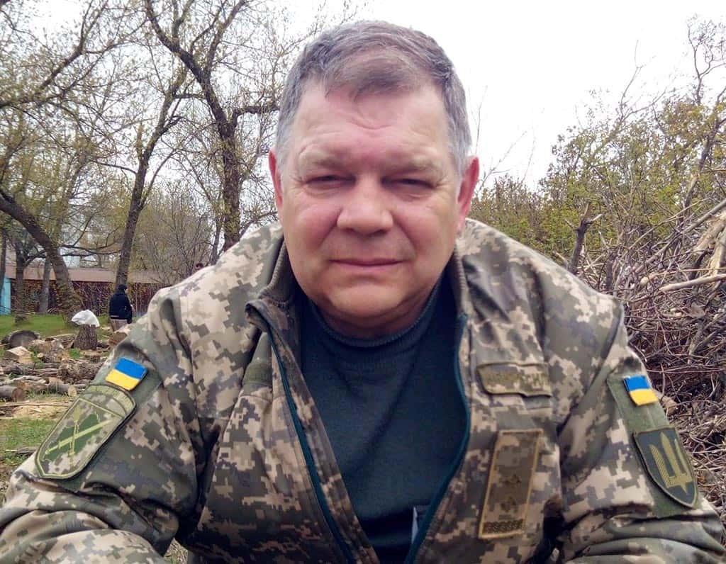 Підполковник запасу Олександр Шипілов