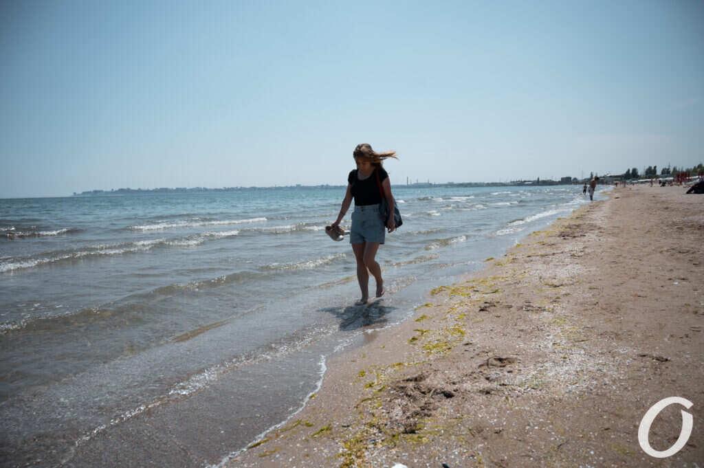 море, пляж, Лузановка