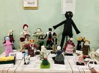 Из ваты, кукурузы и теста: одесситам показывают народных кукол (фото)