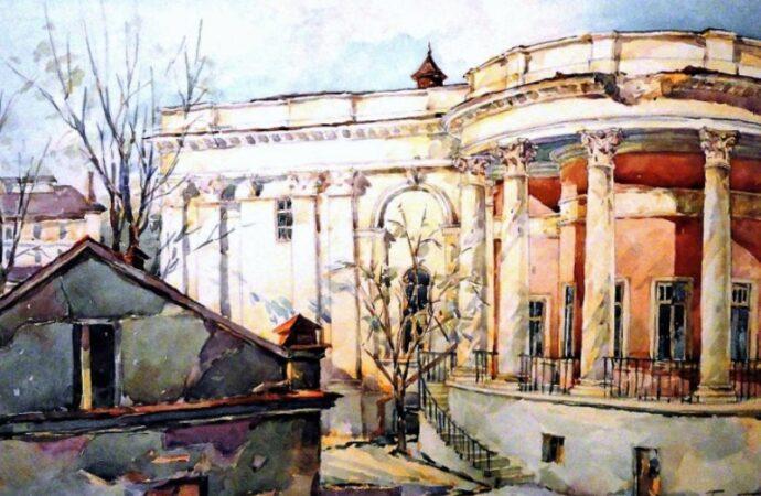 Одесса в 1945 году, старая биржа2