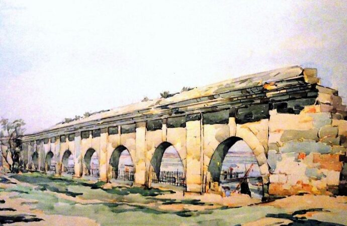 Одесса в 1945 году, аркада
