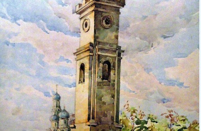 Одесса в 1945 году, башня