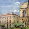 Одесса в 1945 году в работах архитектора и художника Генриха Топуза (фото)