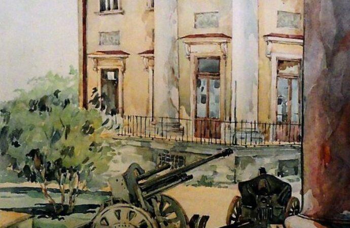 Одесса в 1945 году, Воронцовский дворец
