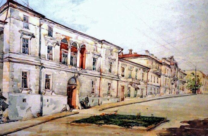 Одесса в 1945 году, дом