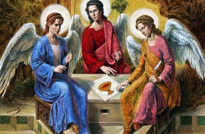 У католиков сегодня Троица