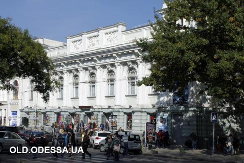 Украинский театр в Одессе, старые фото2