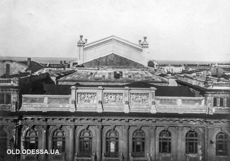 Украинский театр в Одессе, старые фото4