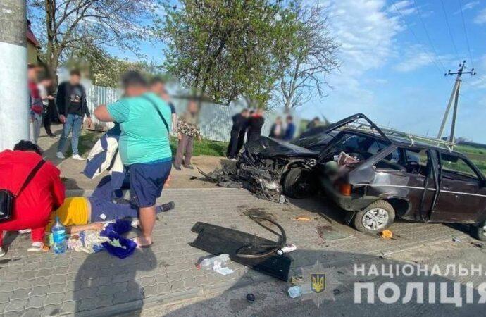 В ДТП под Одессой столкнулись четыре авто: есть пострадавшие
