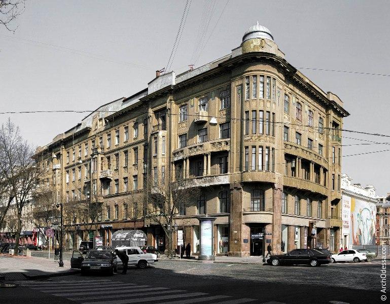 Дом Новикова в Одессе