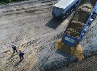 Объездная дорога в Одесский порт: начался новый этап работ (видео)