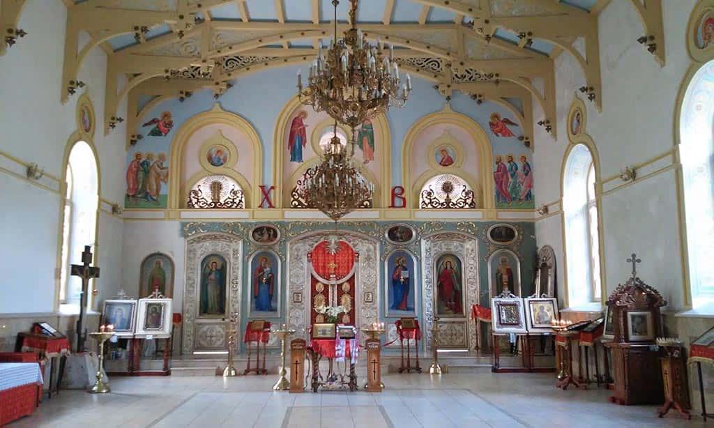 храм Григория Богослова внутри