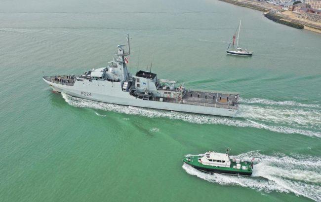В Одессу направляется британский военный корабль (видео)