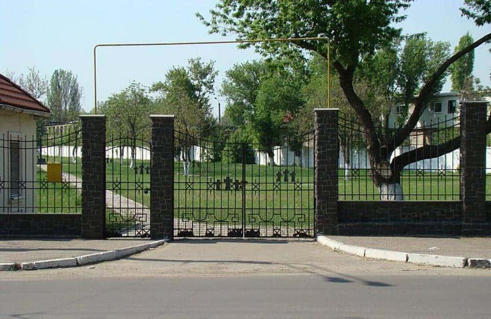 кладбище Промышленная