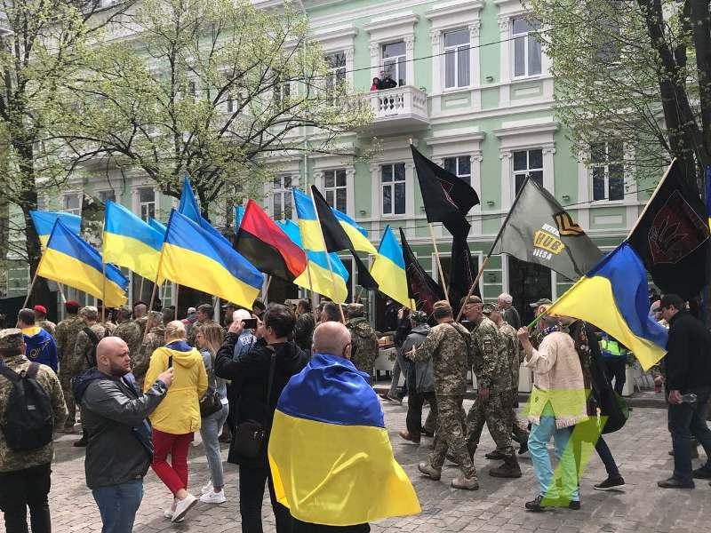 марш патриотов в Одессе, 2 мая 2021 г. 2
