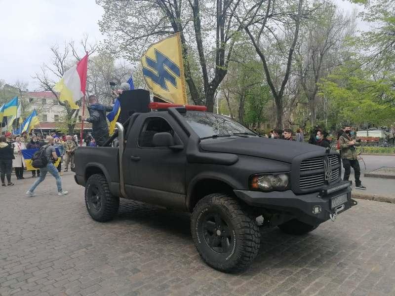 марш патриотов в Одессе, 2 мая 2021 г. 3