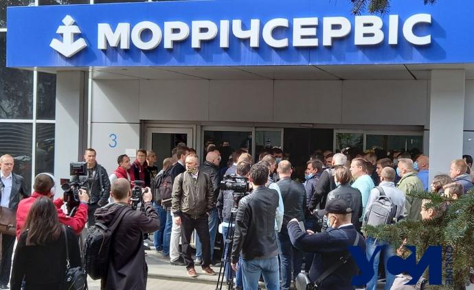 В Одессе моряки штурмовали офис Морречсервиса: заявляют о коррупции