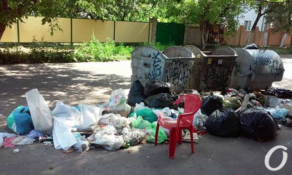мусор одесские дворы