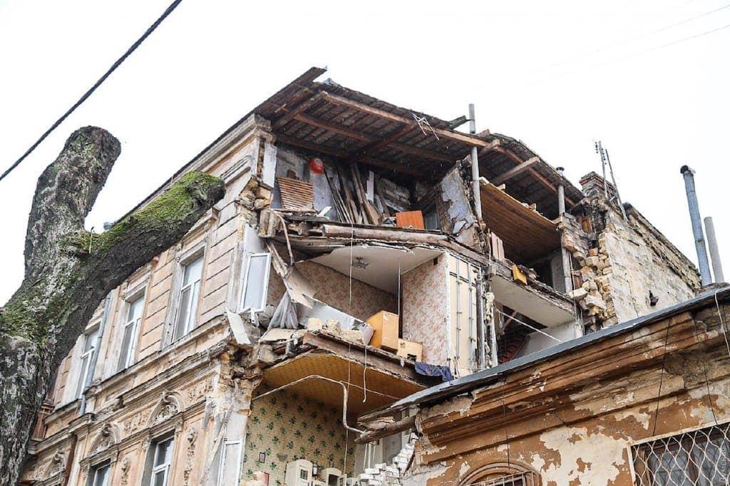 Обрушение дома на Нежинскоий