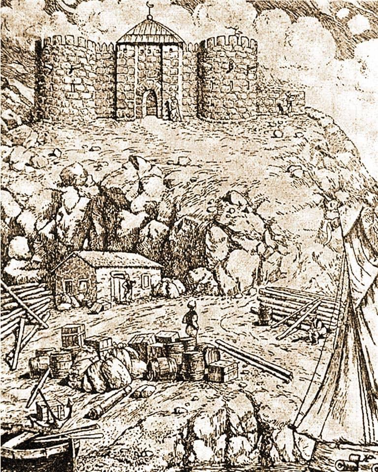 одесса хаджибей крепость