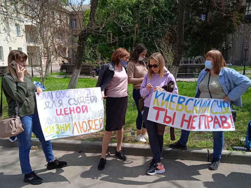 жители Черемушек вышли на пикет5